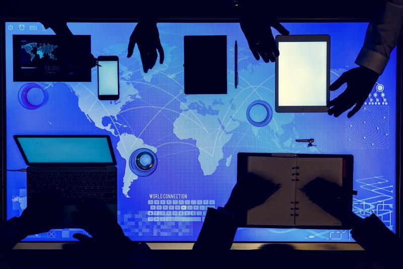 Дигитална карта на света