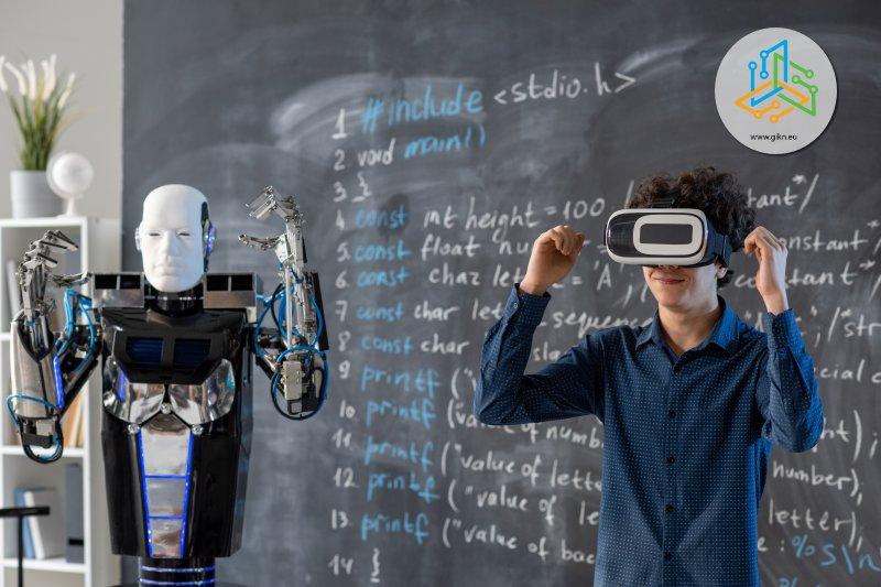 Обучение с робот и виртуална реалност