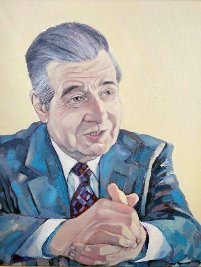 портрет на Академик Благовест Сендов